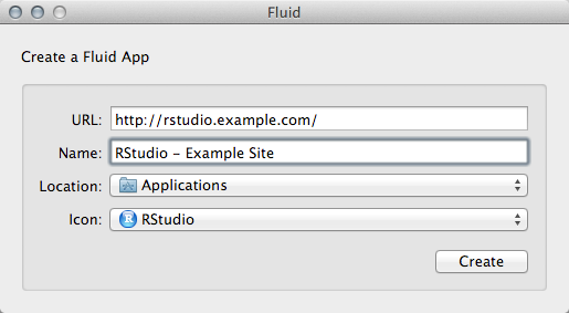 "Use Fluid On MacOS To Build Per-RStudio Server ""Dedicated"" Clients"