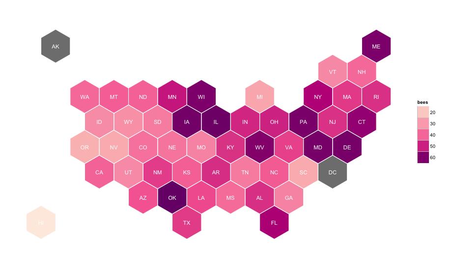 GeoJSON Hexagonal