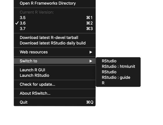 RSwitch - A lightweight macOS menubar app for macOS R users